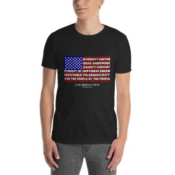 T Shirt - What USA Stands For